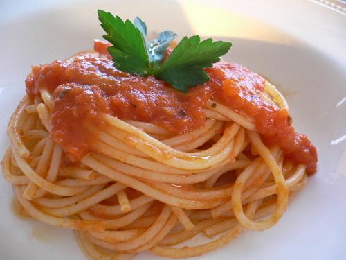 spaghettini al sugo pomodoro.JPG