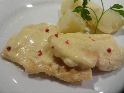petti di pollo in salsa senape.jpgのサムネール画像